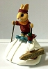 Bunny on Skis - Tender Touches Figurine
