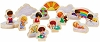 2020 Marys Angels Wood Play 15 piece set by Hallmark