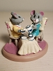 Mice at Tea Party - Tender Touches Figurine - no box