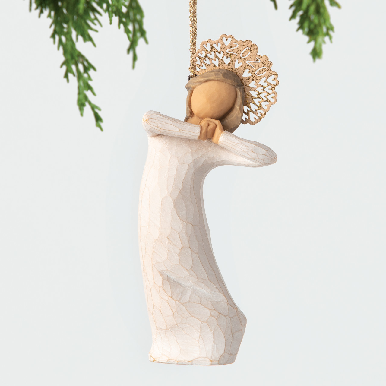 Willow Tree Christmas 2020 Ornament Willow Tree 2020 Dated Ornament by Susan Lordi at Hooked on