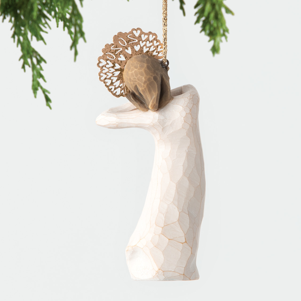 Willow Tree Christmas 2020 Ornament Willow Tree 2020 Dated Ornament by Susan Lordi at Hooked on Ornaments