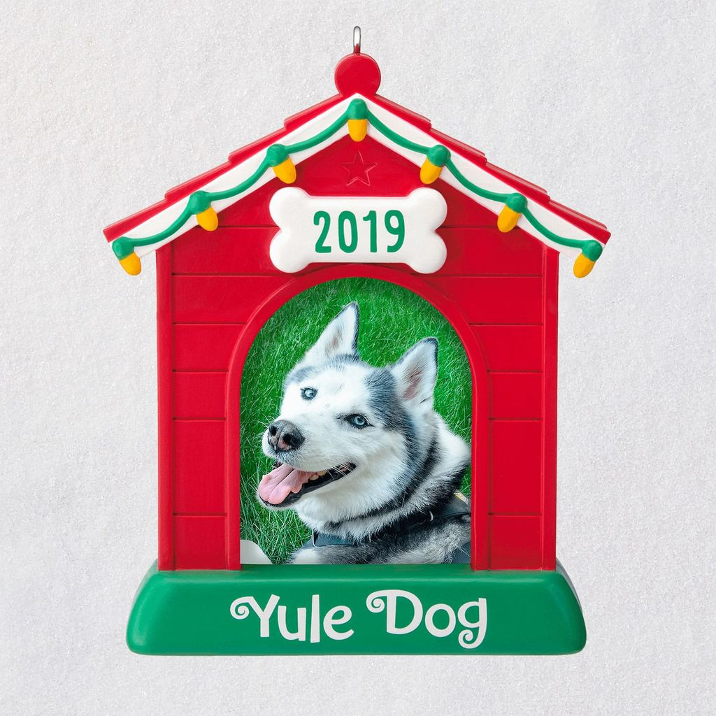 2019 Yule Dog Photo Holder