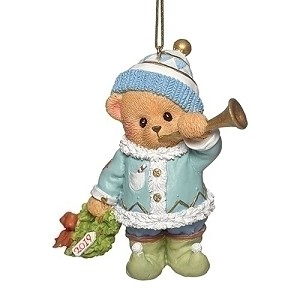 2019 Teddy Annual Ornament - Cherished Teddies
