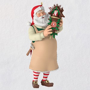 2019 Toymaker Santa 20 Cuckoo Clock