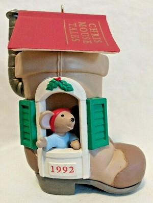 1992 Chris Mouse #8 - Chris Mouse Tales - Lighted