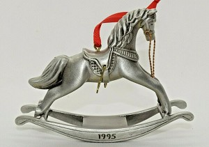 1995 Rocking Horse, Pewter