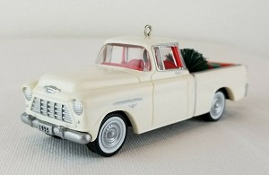 "<font face=""arial"" size=""2""><b>1996 All American Truck #2 - 1955 Chevrolet Cameo</b><br>1996 Hallmark Keepsake Series Ornament <br><i> (Scroll down for additional details) </i> </font>"