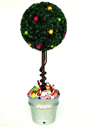 2002 Sugar Plum Topiary - LIGHTED Gumdrops