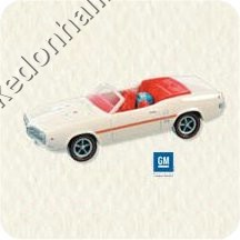 2008 Hallmark Keepsake Ornament <br>Classic American Car Colorway <br>2008 Ornament Premiere Limited Edition