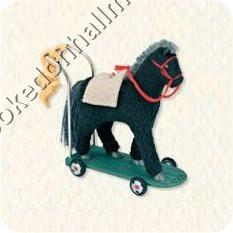2008 Hallmark Keepsake Ornament <br>A Pony for Christmas Colorway <br>2008 Ornament Premiere Limited Edition