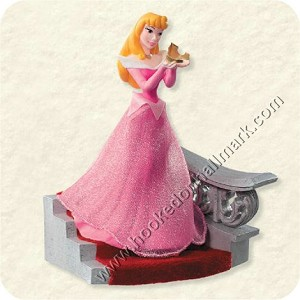 "<font face=""arial"" size=""2""><b>2008 Aurora's Royal Crown<br></b>2008 Hallmark Keepsake Disney Ornament <br><i> (Scroll down for additional details) </i> </font>"