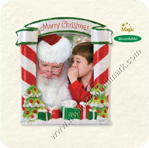 2008 Sittin on Santa's Lap - Recordable!