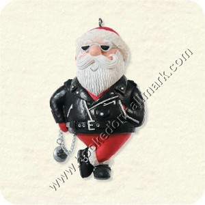 "<font face=""arial"" size=""2""><b>2008 Jolly Rider - Harley-Davidson Motorcycles</b><br>2008 Hallmark Keepsake Ornament <br><i> (Scroll down for additional details) </i> </font>"