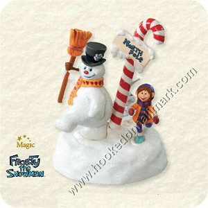 "<font face=""arial"" size=""2""><b>2008 Follow the Leader</b><br>2008 Hallmark Keepsake Magic Ornament <br><i> (Scroll down for additional details) </i> </font>"