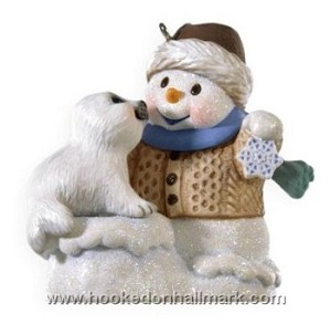 "<font face=""arial"" size=""2""><b>2009 Snow Buddies #12</b><br>2009 Hallmark Keepsake Series Ornament <br><i> (Scroll down for additional details) </i> </font>"
