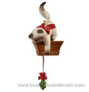 "<font face=""arial"" size=""2""><b>2009 Mischievous Kittens #11</b><br>2009 Hallmark Keepsake Series Ornament <br><i> (Scroll down for additional details) </i> </font>"