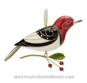 "<font face=""arial"" size=""2""><b>2009 Beauty of Birds #4 Red Headed Woodpecker</b><br>2009 Hallmark Keepsake Series Ornament <br><i> (Scroll down for additional details) </i> </font>"