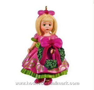 "<font face=""arial"" size=""2""><b>2009 Madame Alexander #14</b><br>2009 Hallmark Keepsake Series Ornament <br><i> (Scroll down for additional details) </i> </font>"