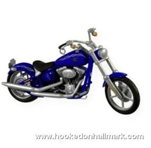 2009 Harley Davidson Motorcycle Hallmark Keepsake Ornament ...