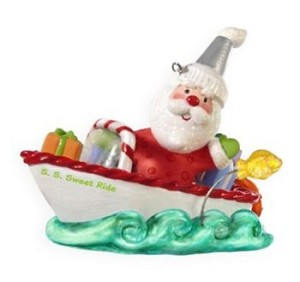 "<font face=""arial"" size=""2""><b>2009 Santa's Sweet Ride #3</b><br>2009 Hallmark Keepsake Series Ornament <br><i> (Scroll down for additional details) </i> </font>"