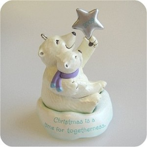 "<font face=""arial"" size=""2""><b>2009 A Time for Togetherness</b><br>2009 Hallmark Keepsake Event Ornament<br><i> (Scroll down for additional details) </i> </font>"