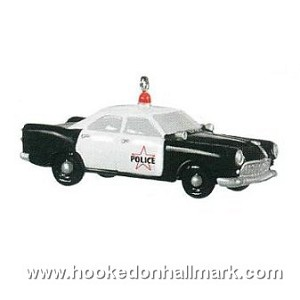 2009 Police Cruiser - RARE complement to 2009 Nost House: Police Station