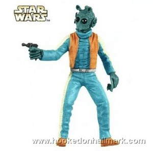 "<font face=""arial"" size=""2""><b>2009 Greedo - Star Wars: A New Hope</b><br>2009 Hallmark Keepsake LIMITED EDITION Ornament <br><i> (Scroll down for additional details) </i> </font>"