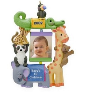 2009 Babys First Christmas, Photo Holder - hard to find