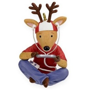 "<font face=""arial"" size=""2""><b>2009 Wired for Fun </b><br>2009 Hallmark Keepsake Christmas Ornament <br><i> (Scroll down for additional details) </i> </font>"