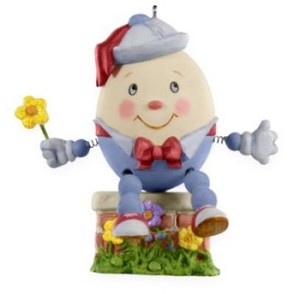 "<font face=""arial"" size=""2""><b>2009 Humpty Dumpty</b><br>2009 Hallmark Keepsake Ornament <br><i> (Scroll down for additional details) </i> </font>"