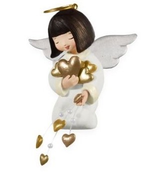 "<font face=""arial"" size=""2""><b>2009 Good Tidings Angel</b><br>2009 Hallmark Keepsake Ornament <br><i> (Scroll down for additional details) </i> </font>"