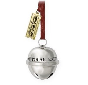 "<font face=""arial"" size=""2""><b>2009 Polar Express: Santa's Sleigh Bell</b><br>2009 Hallmark Keepsake Ornament <br><i> (Scroll down for additional details) </i> </font>"