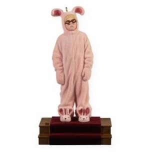 "<font face=""arial"" size=""2""><b>2009 Ralphie's Pink Nightmare</b><br>2009 Hallmark Keepsake Magic Ornament <br><i> (Scroll down for additional details) </i> </font>"