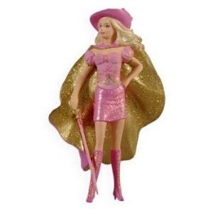 "<font face=""arial"" size=""2""><b>2009 Barbie as Corinne, Three Musketeers </b><br>2009 Hallmark Keepsake Ornament <br><i> (Scroll down for additional details) </i> </font>"