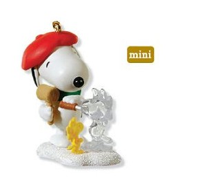 2010 Winter Fun with Snoopy #13 - MINIATURE
