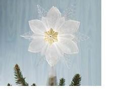 Wonder and Light, Glowing Snowflake TREE TOPPER