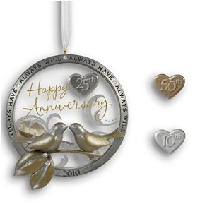 2010 Anniversary Celebration + charms for 10, 25 & 50th
