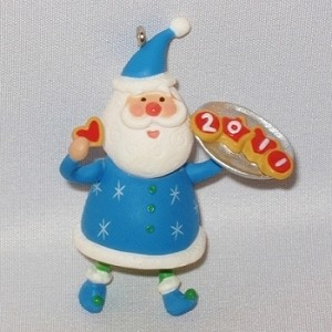 2011 Festive Santa #3, COLORWAY - MINIATURE