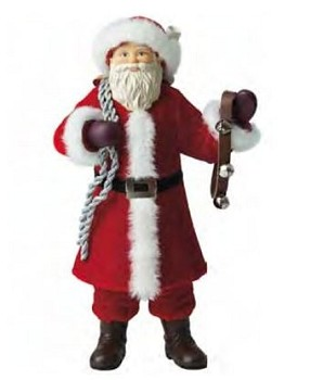 "2011 Father Christmas 12"" Tabletop Display"