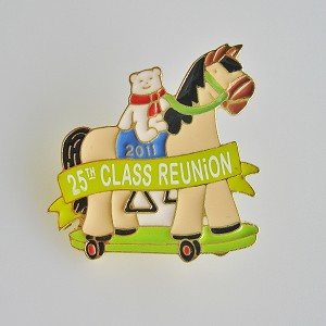 2011 25th Class Reunion Kansas City Event Lapel Pin