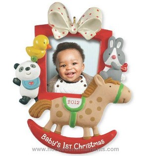 2012 babys first christmas photo holder
