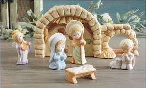 2012 Mary Hamilton Nativity - 6 Figurines