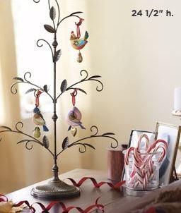 2013 Twelve Days of Christmas Display Tree Hallmark ...