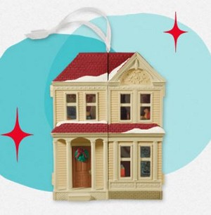 2013 Nostalgic House Victorian Dollhouse REPAINT - Less Than 1000 Produced