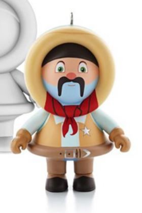 2013 Frosty Friends Mystery Ornament - Wild West