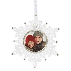 2013 Our First Christmas Together Photo Holder Hallmark Christmas Ornament | Hallmark Keepsake Ornaments at Hooked on Hallmark Ornaments