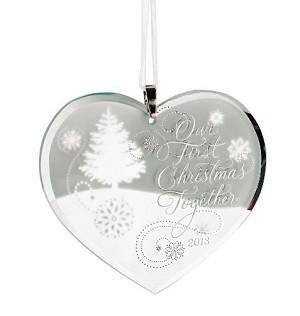 2013 Our First Christmas Together Hallmark Christmas Ornament | Hallmark Keepsake Ornaments at Hooked on Hallmark Ornaments