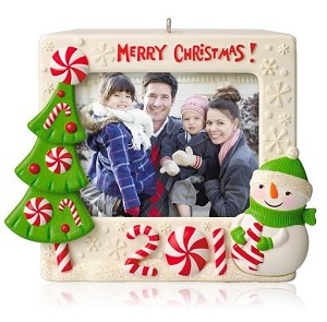 2014 Merry Christmas Recordable Photo Holder Hallmark Ornament ...