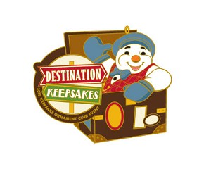 2015 Destination Keepsakes Lapel Pin EVENT