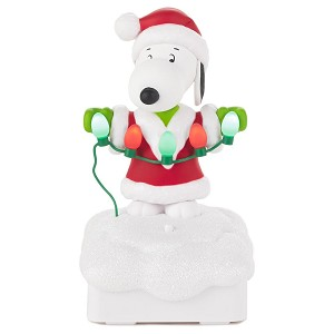 2015 Peanuts Gang Christmas Light Show - SNOOPY